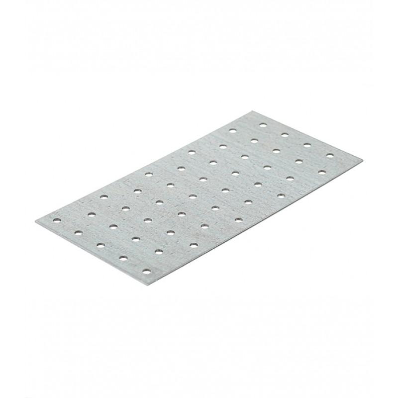 Пластина соединительная оцинкованная 200х100х1.8 мм (фото 2)