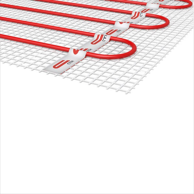 Теплый пол нагревательный мат Квадрат тепла СТН КМ-1050-7,0 7 кв.м 150 (1050) Вт