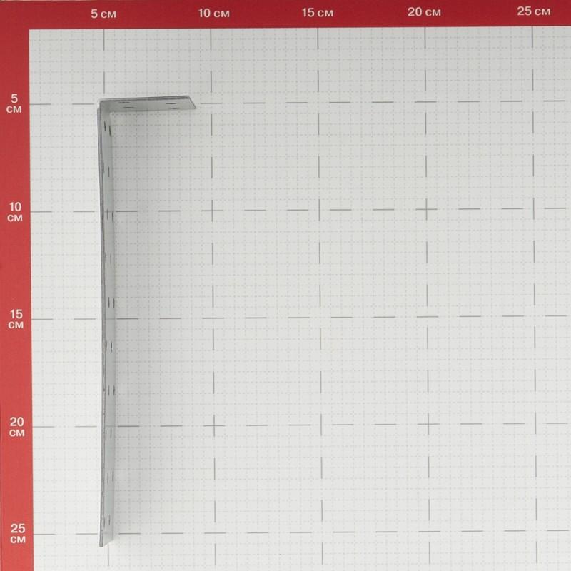 Уголок соединительный оцинкованный 40х200х40х2 мм (фото 2)