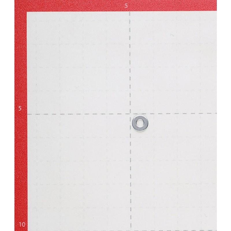 Шайба оцинкованная 3x7 мм DIN 125А (50 шт.)