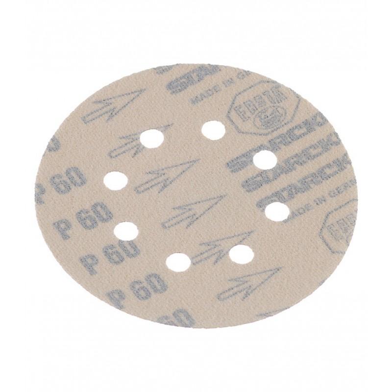 Диск шлифовальный Starcke d125 мм P60 на липучку перфорированный (5 шт.)