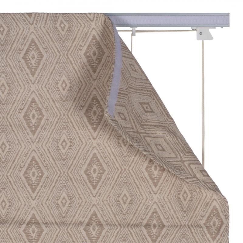 Штора римская Сафари 100х160 см бежевый (фото 4)