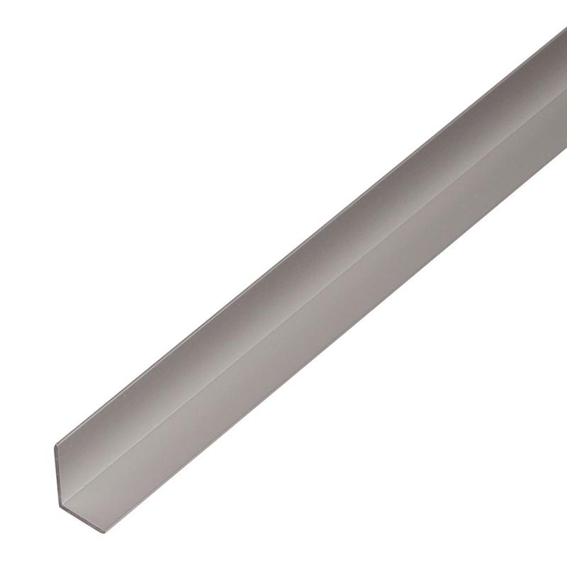 Уголок алюминиевый 9.5х7.5х1.5х1000 мм анодированный