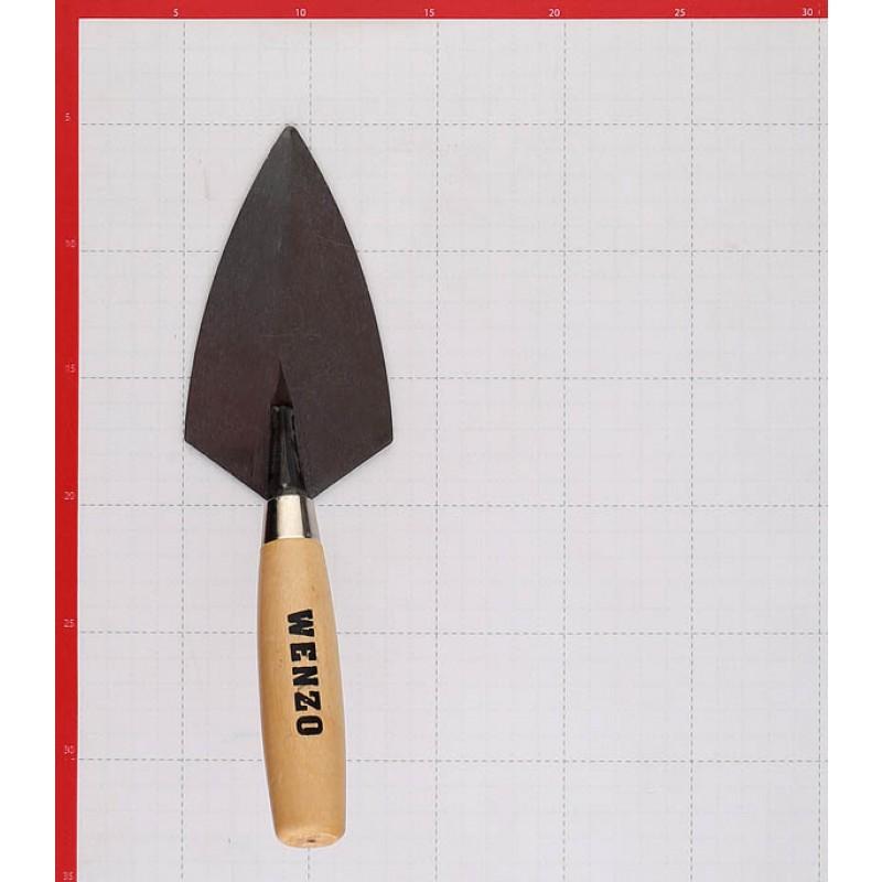 Кельма штукатура Wenzo 160 мм с деревянной ручкой