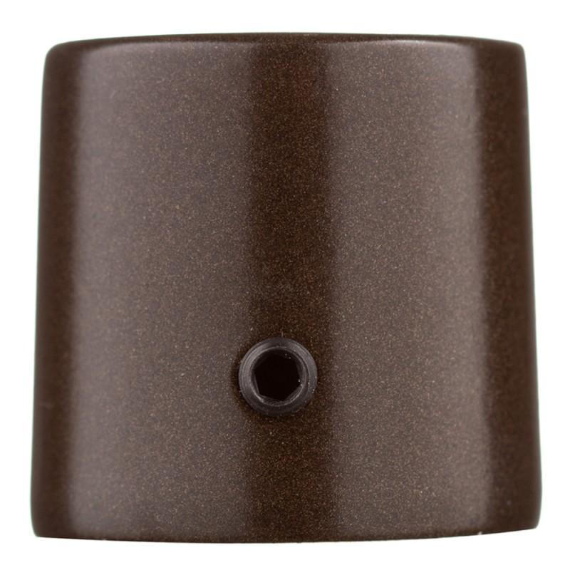 Наконечник Цилиндр d 16 мм шоколад 2 шт.