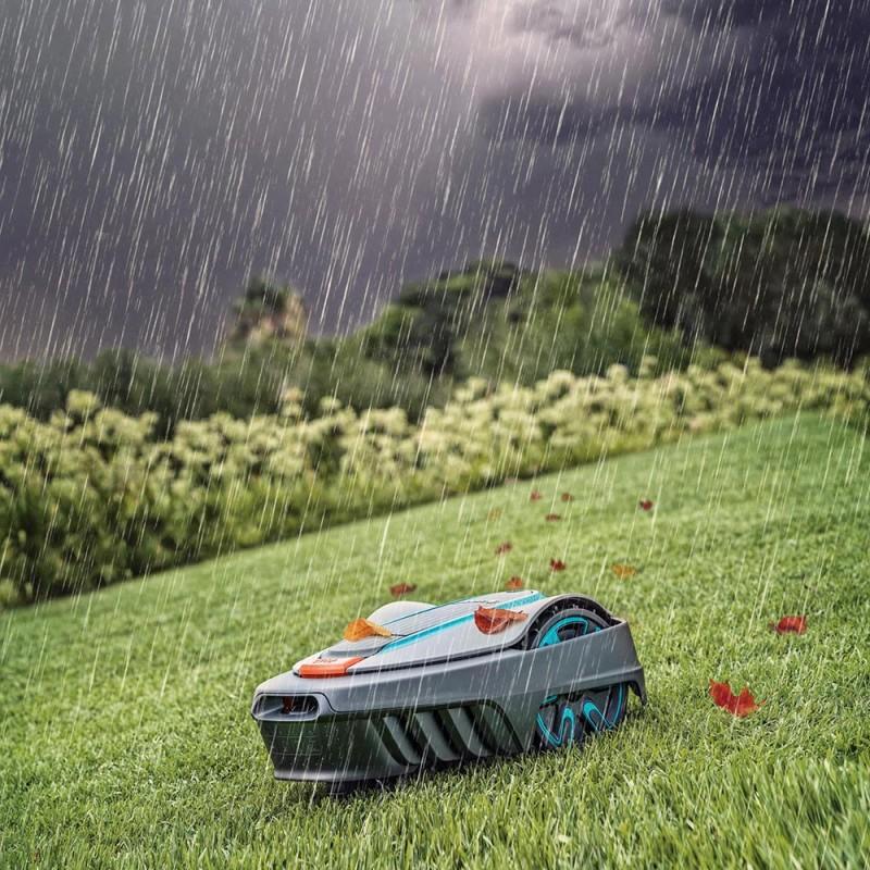 Газонокосилка-робот аккумуляторная Gardena Sileno city 250 (15001-33) (фото 5)