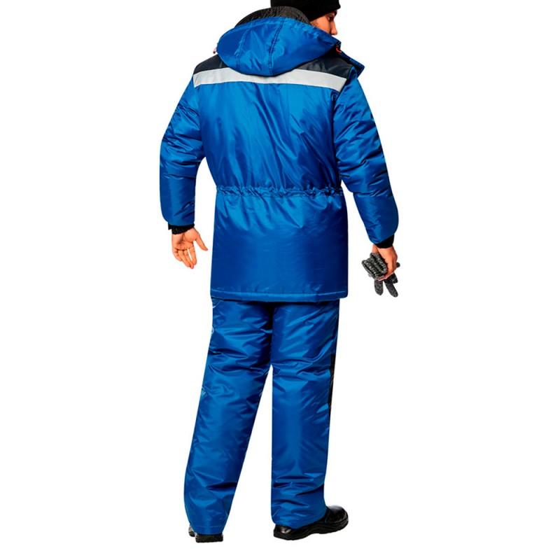 Костюм рабочий утепленный Сектор 48-50 рост 170-176 см цвет синий