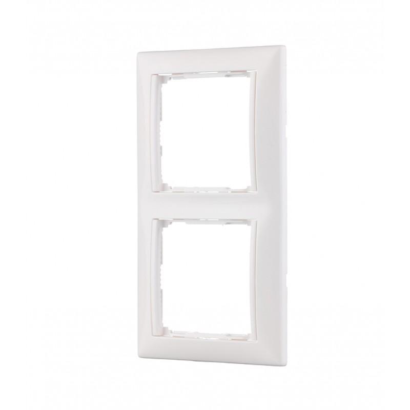 Рамка Legrand Valena 694241 двухместная универсальная белая