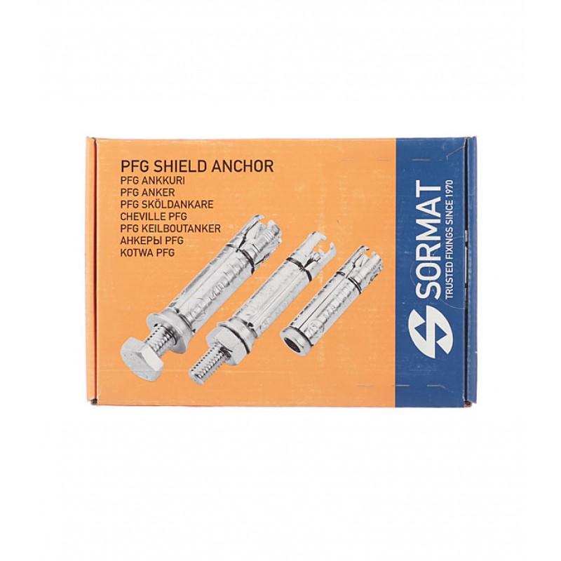 Анкер со шпилькой Sormat PFG/ SB для бетона M8/45 14x50 мм (50 шт.) (фото 4)