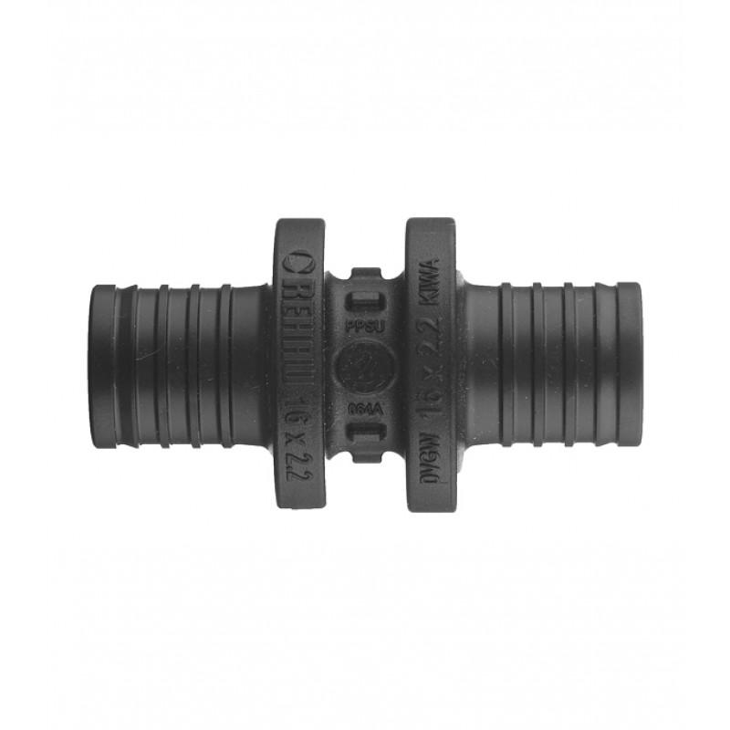 Соединитель прямой PX Rehau (11600111001) 16 х 16 мм