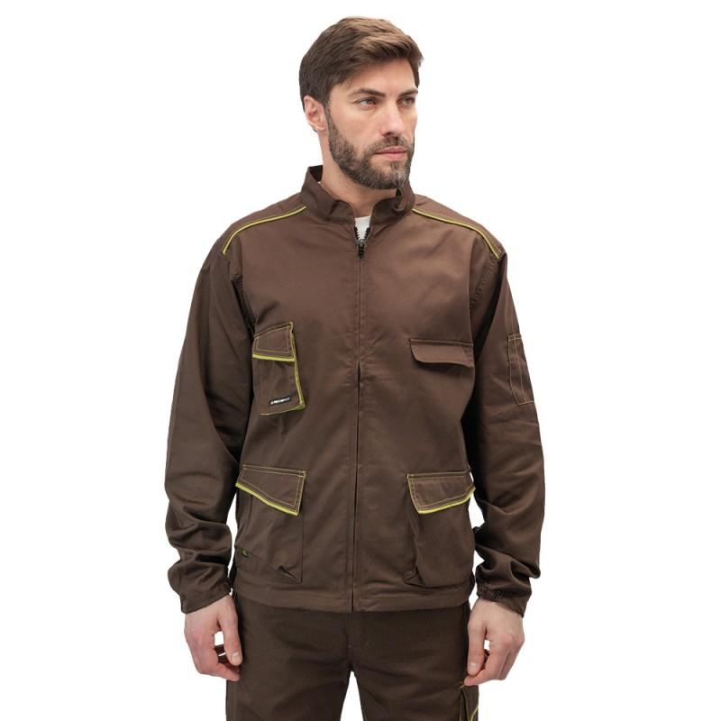 Куртка рабочая Delta Plus Panostyle (M6VESMAXG) 56-58 рост 180-188 см цвет коричневый/зеленый