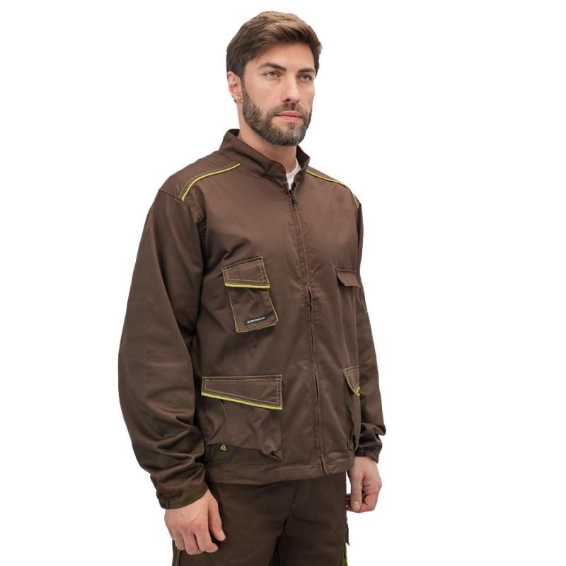 Куртка рабочая Delta Plus Panostyle (M6VESMAXG) 56-58 рост 180-188 см цвет коричневый/зеленый (фото 2)