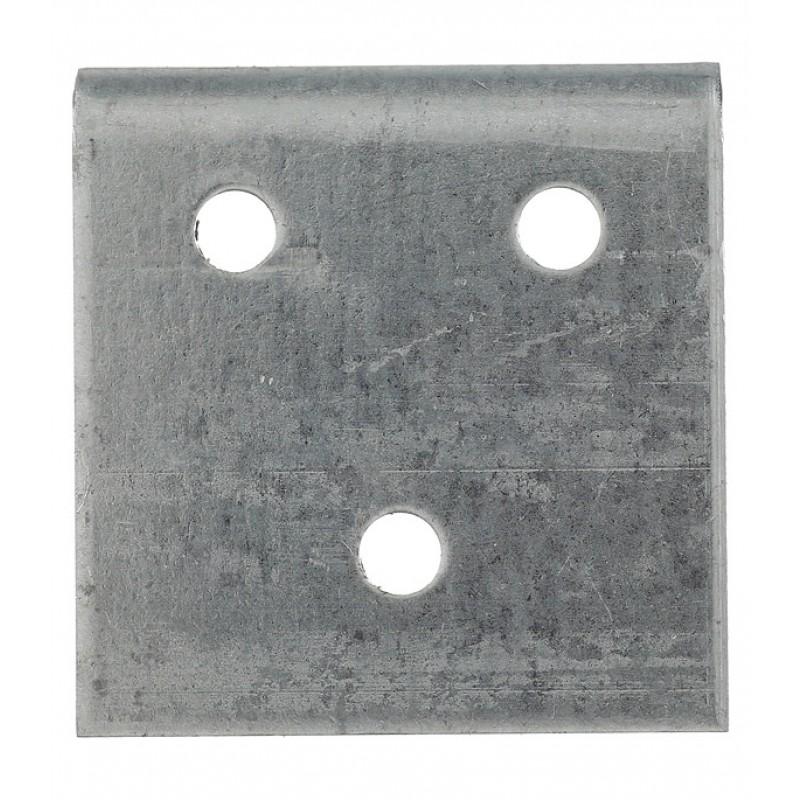 Уголок соединительный оцинкованный 40х80х40х2 мм