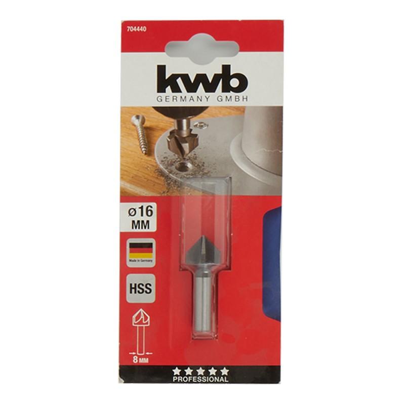 Зенкер KWB (7044-40) по металлу d16 мм