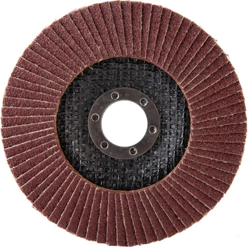 Круг лепестковый по металлу/древесине Debever (FDC 125A 60 72F) 125х22,2 мм P60