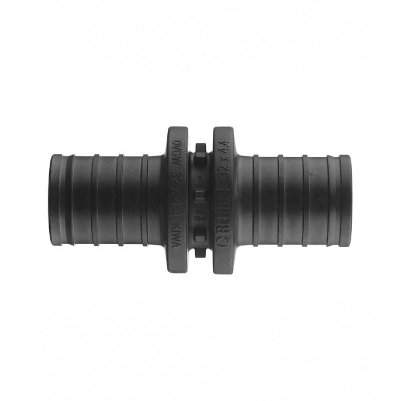 Соединитель прямой PX Rehau (11600141001) 32 х 32 мм