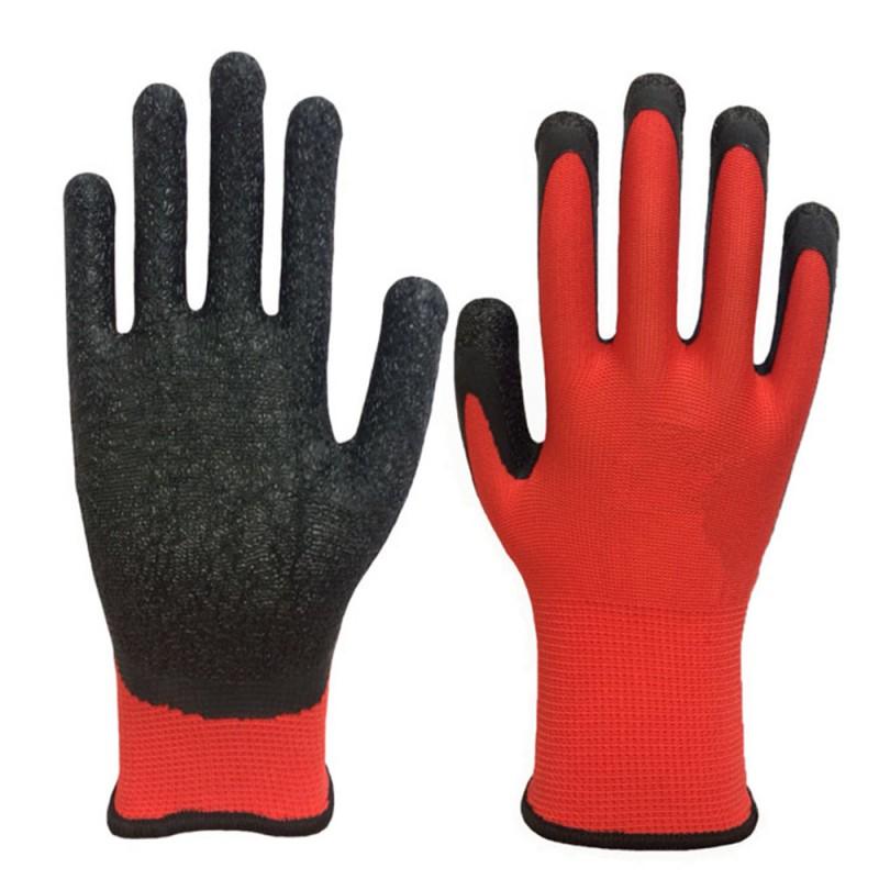 Перчатки нейлоновые со вспененным нитриловым покрытием Эконом (фото 3)