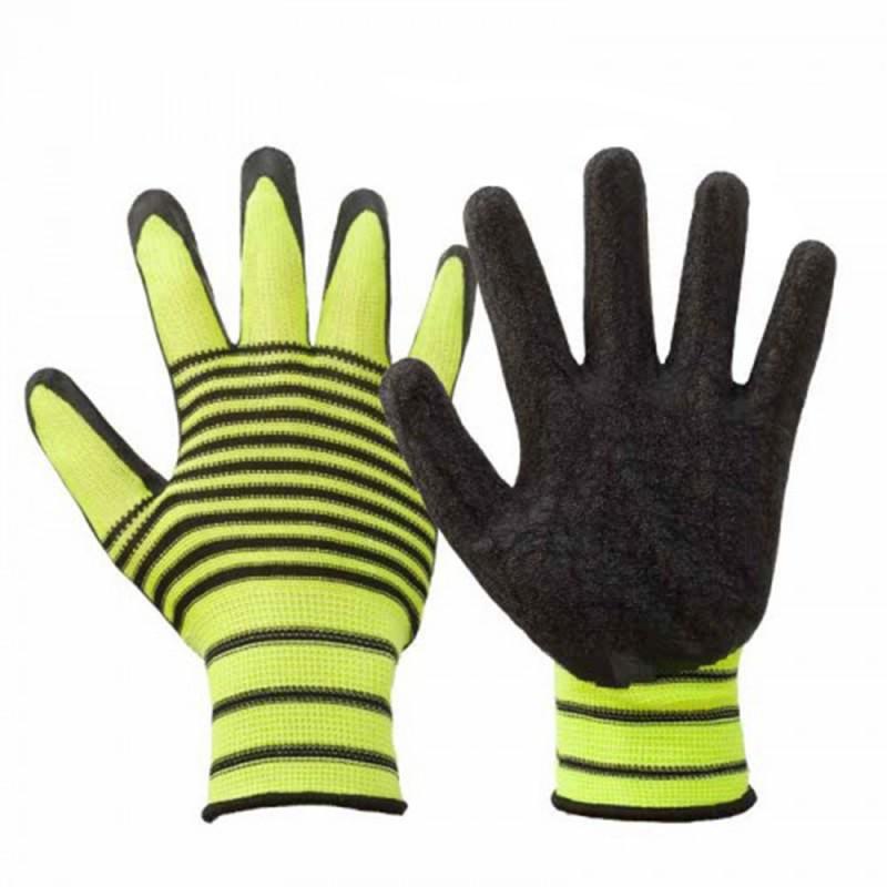 Перчатки нейлоновые со вспененным нитриловым покрытием Эконом (фото 4)