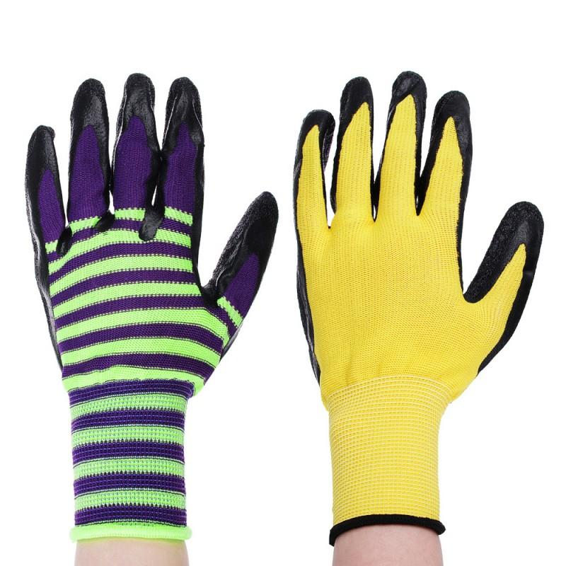 Перчатки нейлоновые со вспененным нитриловым покрытием Эконом (фото 5)