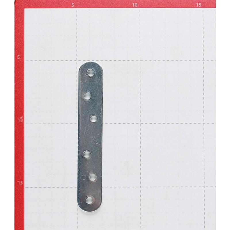 Пластина крепежная оцинкованная 120х19х2.0 мм (4 шт.) (фото 3)
