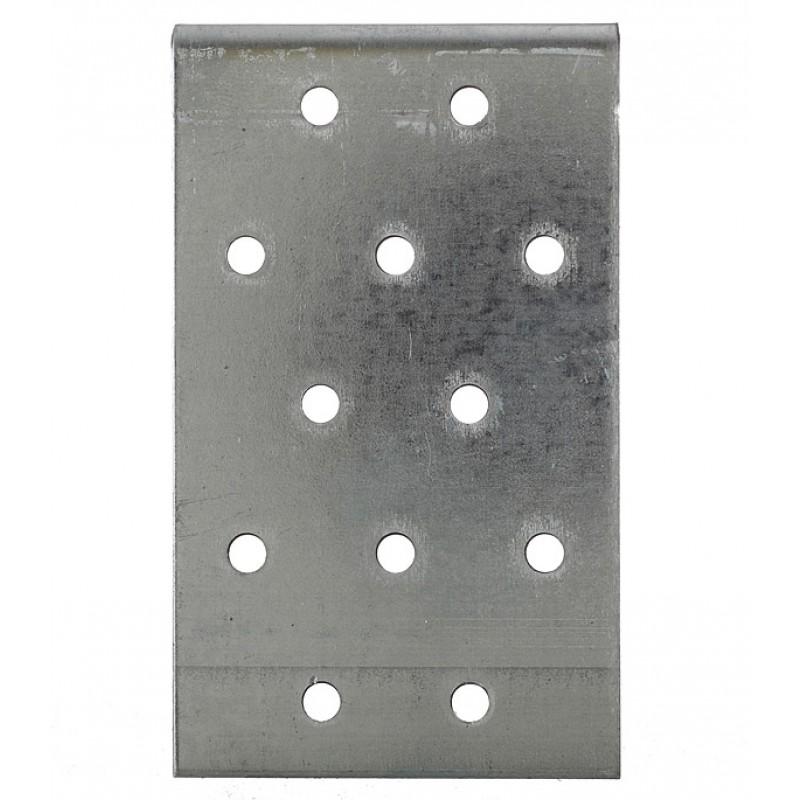 Уголок соединительный оцинкованный 100х100х60х2 мм