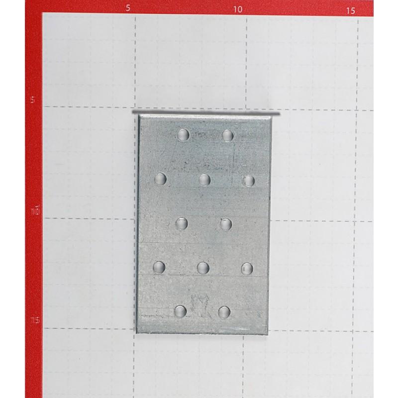 Уголок соединительный оцинкованный 100х100х60х2 мм (фото 2)