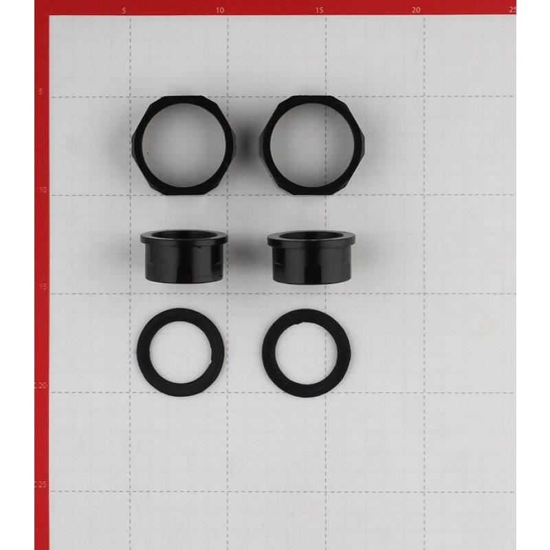 Циркуляционный насос для систем отопления VALTEC 25-60 (VRS.256.13.0) DN25 подъем 6 м 130 мм с гайками