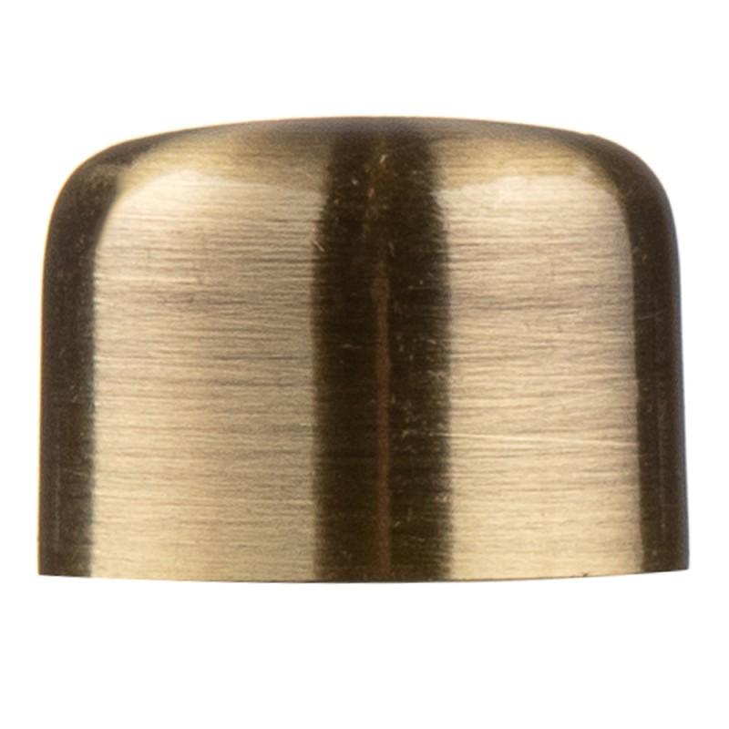 Наконечник-заглушка d 16 мм бронза 2 шт.