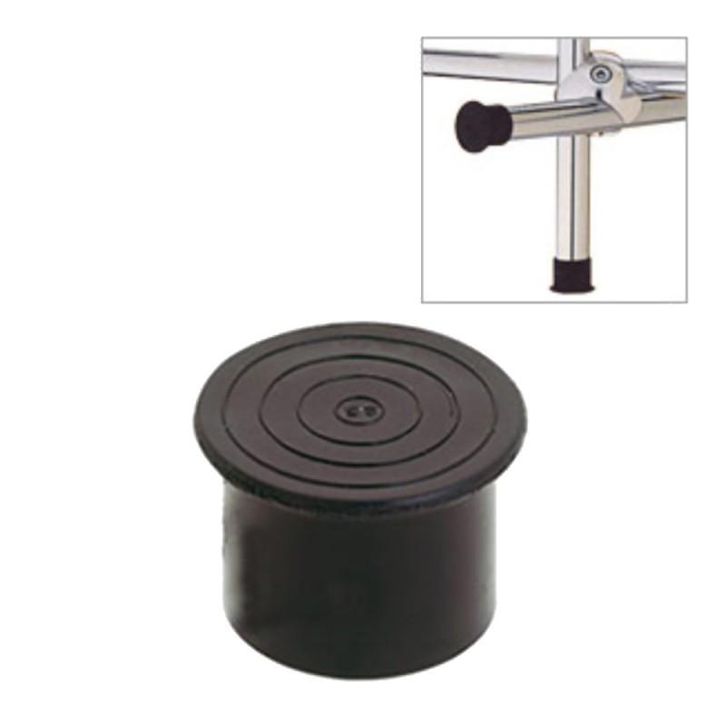 Заглушка внешняя пластиковая для труб к системе Joker d25 мм черная (1 шт.)