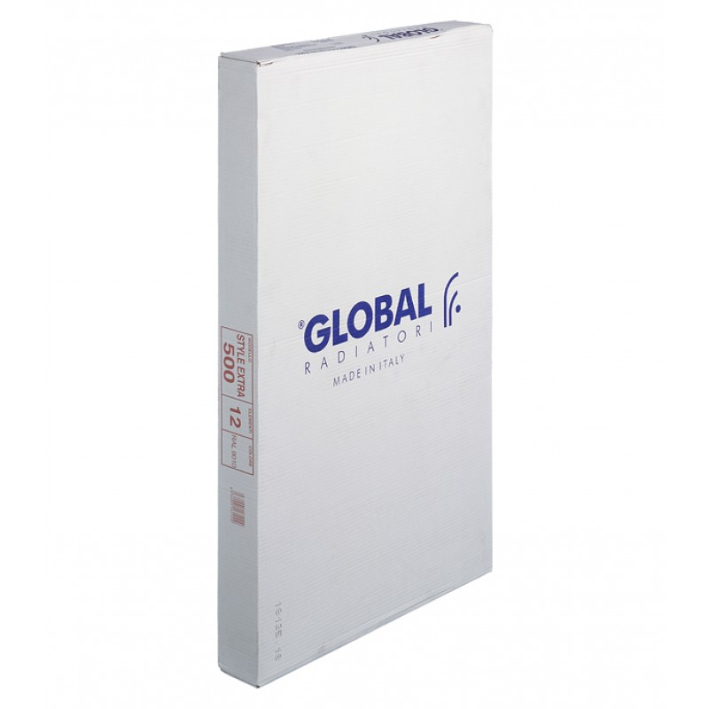 Радиатор биметаллический Global Style Extra 500 мм 12 секций 1