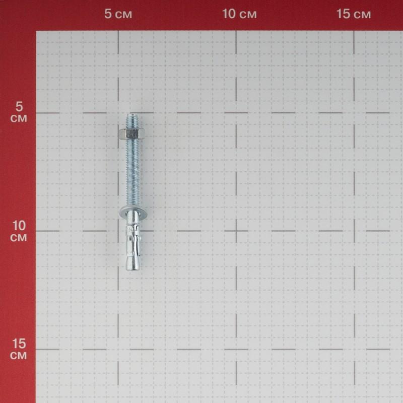 Анкер клиновой для бетона 6х65/5 мм (2 шт.) (фото 3)