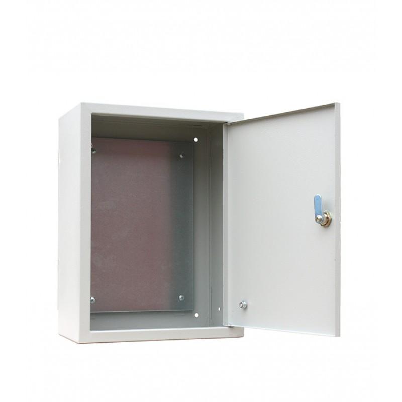 Щит распределительный навесной RUCELF ЩМП-04-2 металлический IP31 400х300х220 мм с монтажной панелью