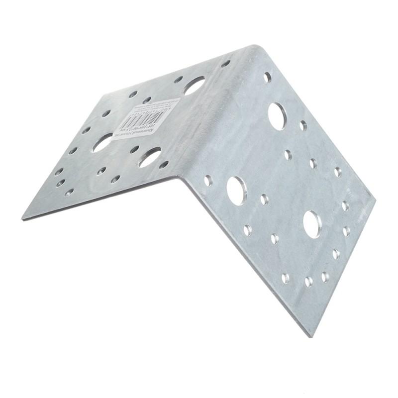 Уголок крепежный оцинкованный 105х105х90х2.5 мм