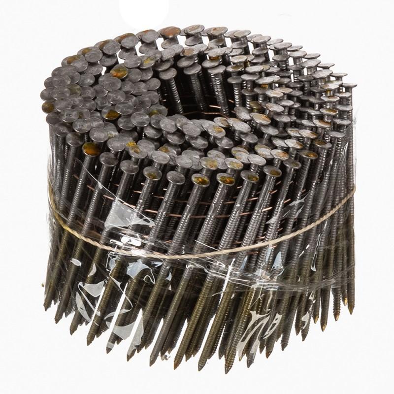 Гвозди барабанные для гвоздезабивного пистолета 2,8x88 мм кольцевая накатка (250 шт.)