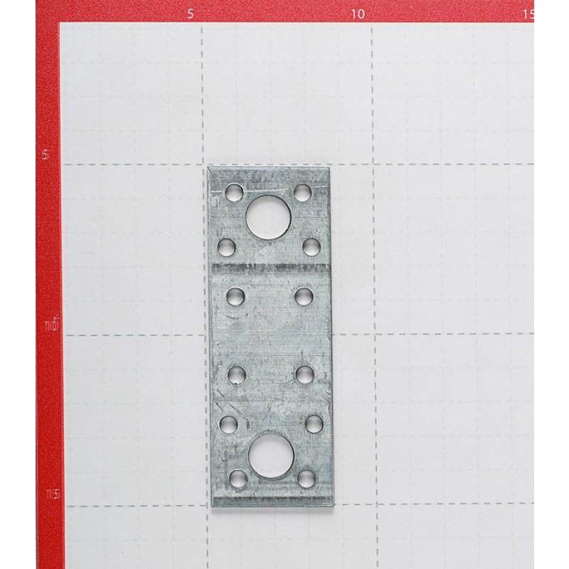 Пластина крепежная оцинкованная 100х35х2.0 мм