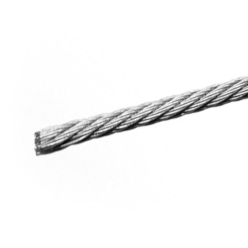 Трос нержавеющая сталь d8 мм DIN 8379