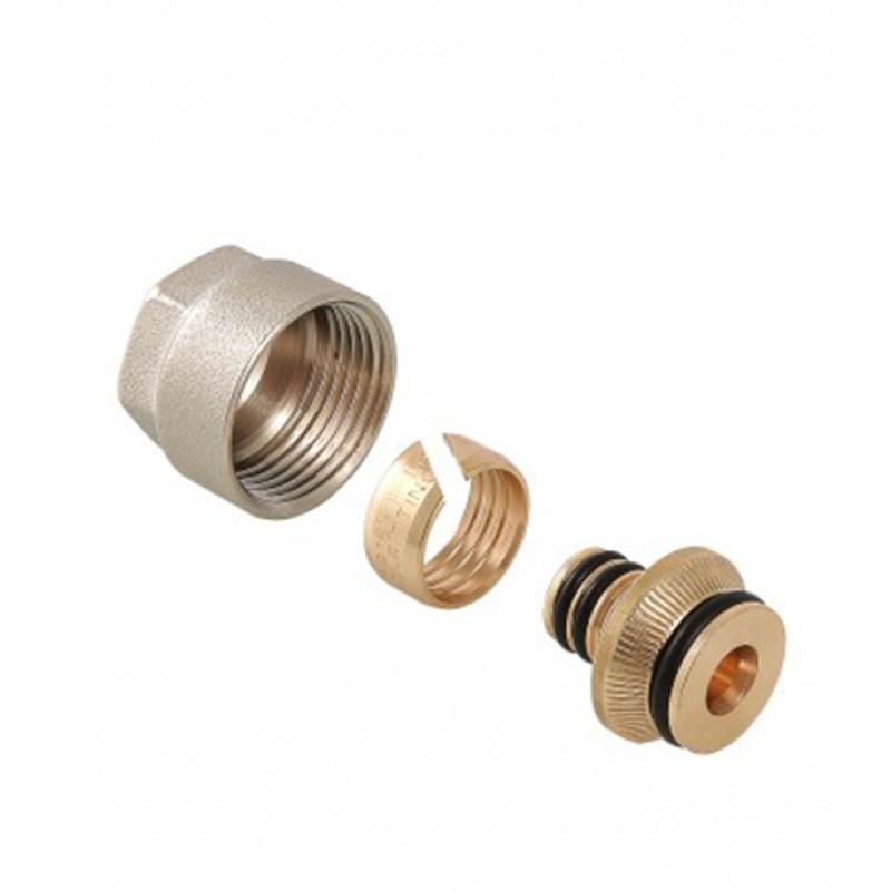 Евроконус VALTEC (VT.4420.NE.16) 16 обж(ц) х 3/4 ВР(г) для металлопластиковых труб 16х2 мм