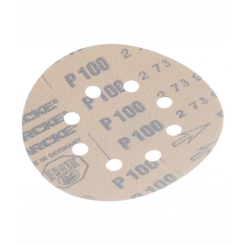 Диск шлифовальный Starcke d125 мм P100 на липучку перфорированный (5 шт.)