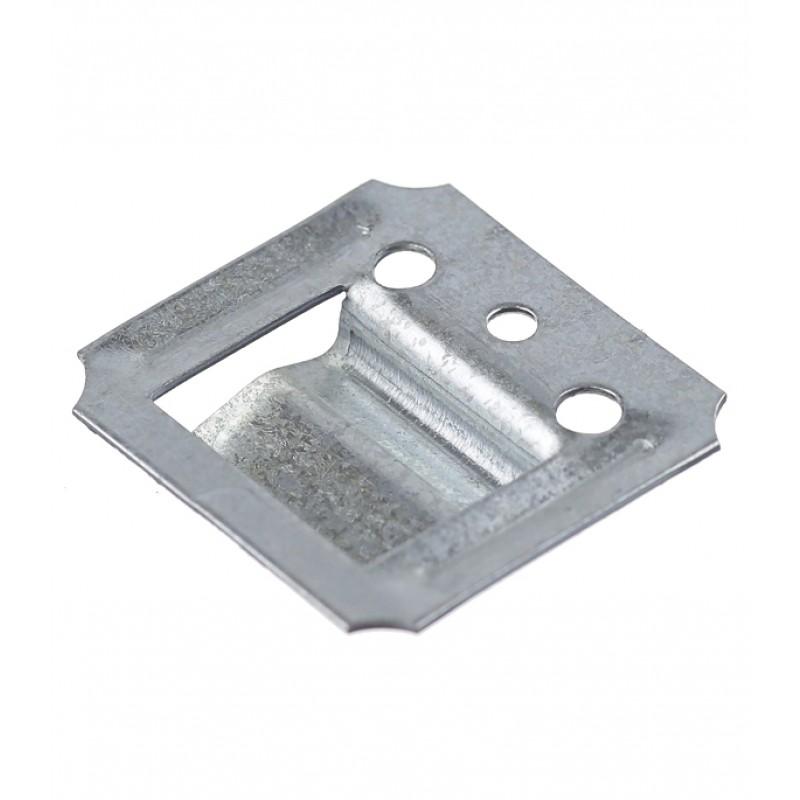 Крепеж кляймер №2 с гвоздями для вагонки и пластиковых панелей (100 шт.) (фото 4)