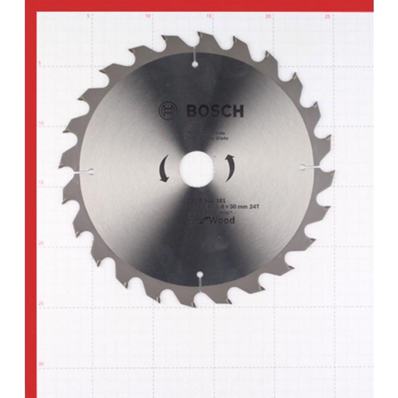 Диск пильный по дереву Bosch Optiline ECO (2608644381) 230х30х2,5 мм 24 зуба (фото 2)