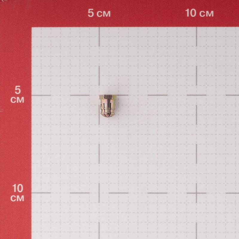Дюбель мебельный металлический M6 (4 шт.)