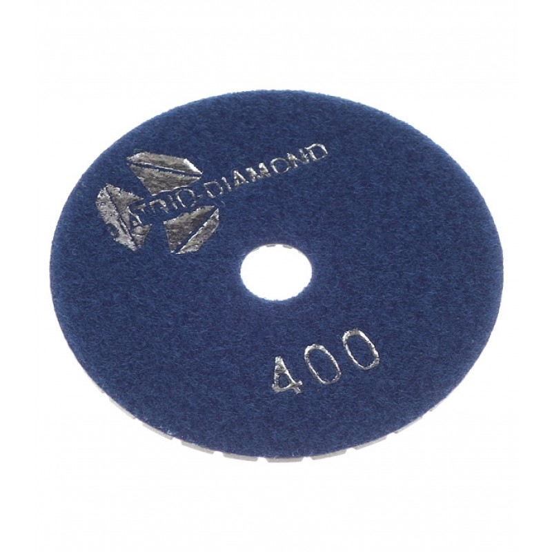 Круг алмазный шлифовальный по камню гибкий d100 мм P400