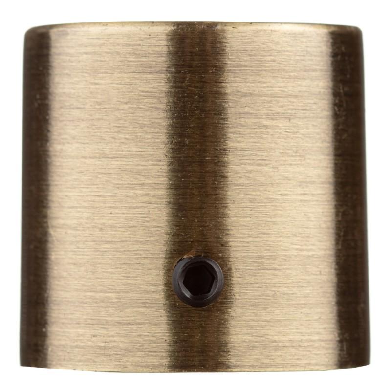 Наконечник Цилиндр d 20 мм бронза 2 шт.