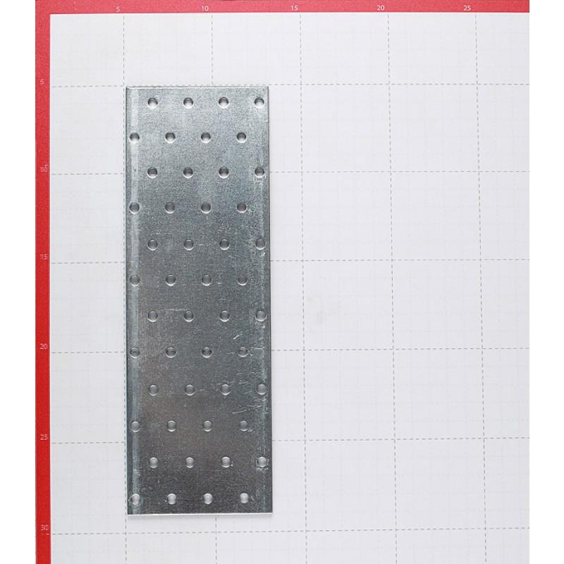Пластина соединительная оцинкованная 240х80х2.0 мм (фото 2)