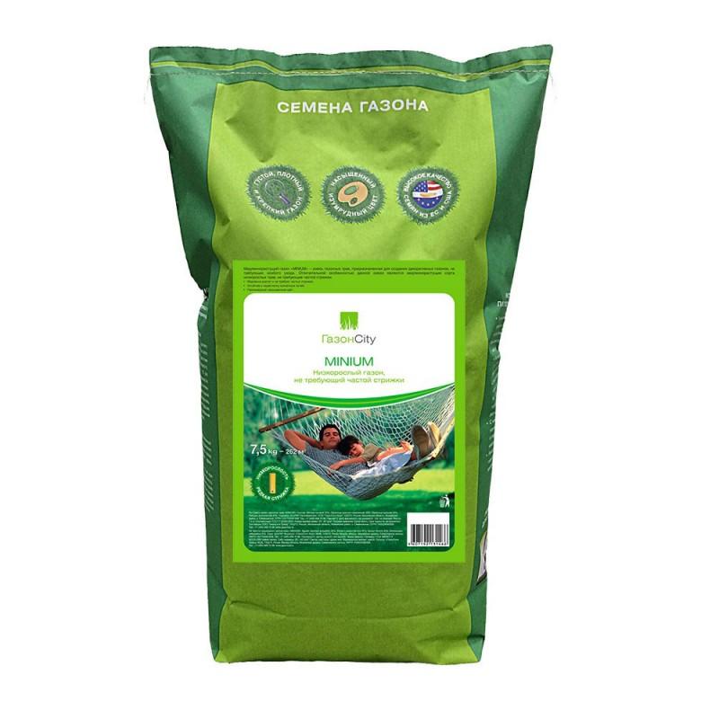 Семена газонной травы MINIMUM Газон Сити 7,5 кг