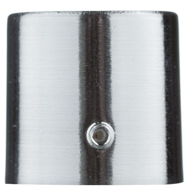 Наконечник Цилиндр d 20 мм серебро 2 шт.