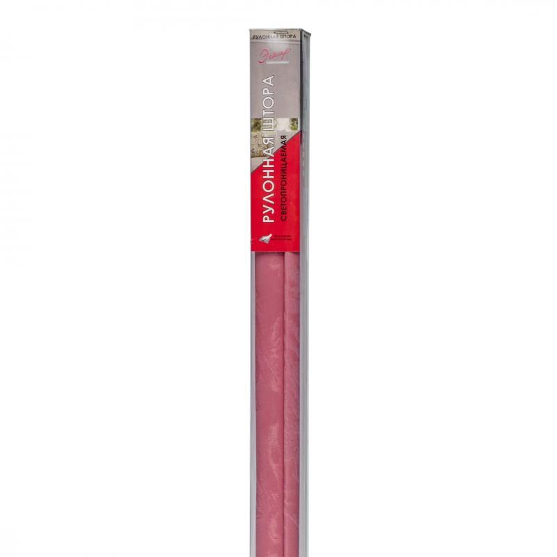 Штора рулонная Джунгли 120х160 см малиновый (фото 7)