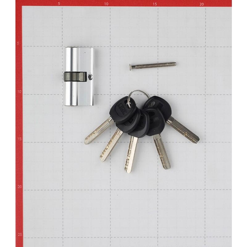 Цилиндр Adria 2018 60 (30х30) мм ключ/ключ хром