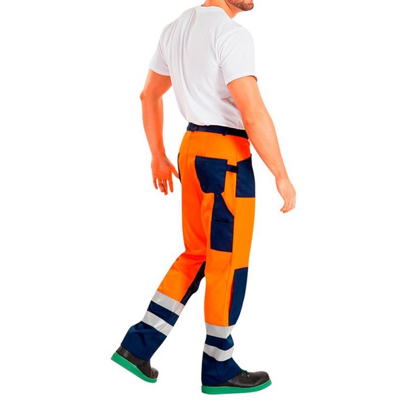 Костюм рабочий сигнальный Асфальт Мастер 48-50 рост 182-188 см цвет оранжевый (фото 2)