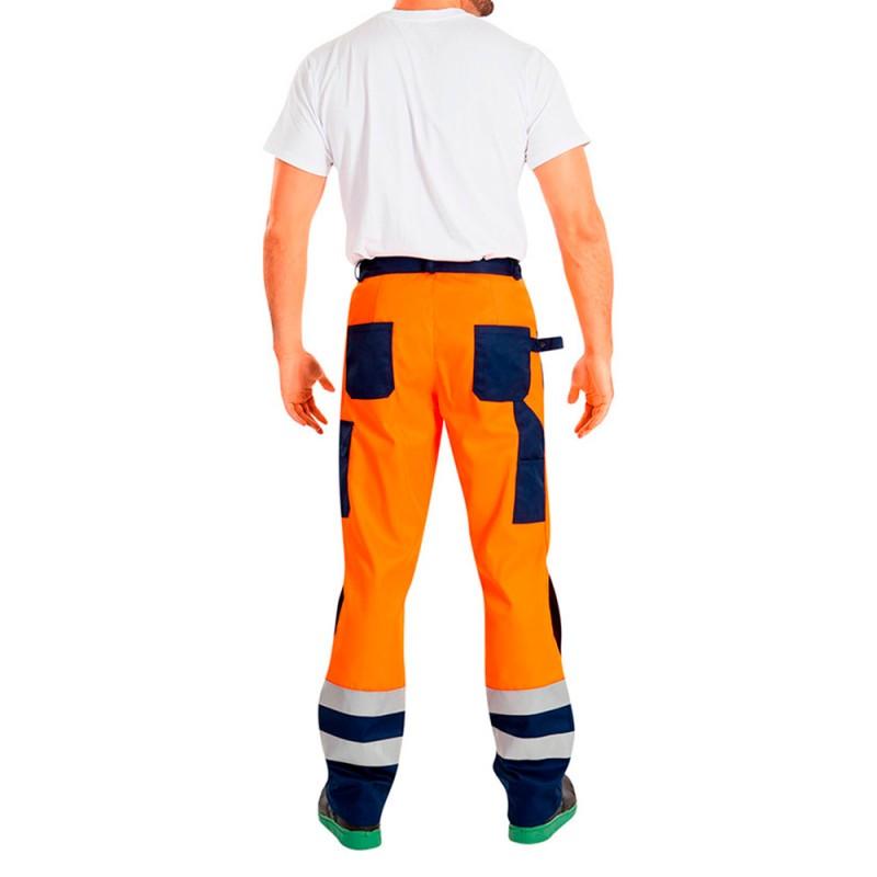 Костюм рабочий сигнальный Асфальт Мастер 48-50 рост 182-188 см цвет оранжевый (фото 3)